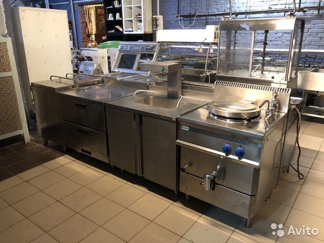 Used equipment for restaurant
