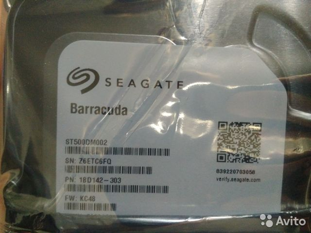 Seagate Barracuda 500Gb  89028148684 купить 1