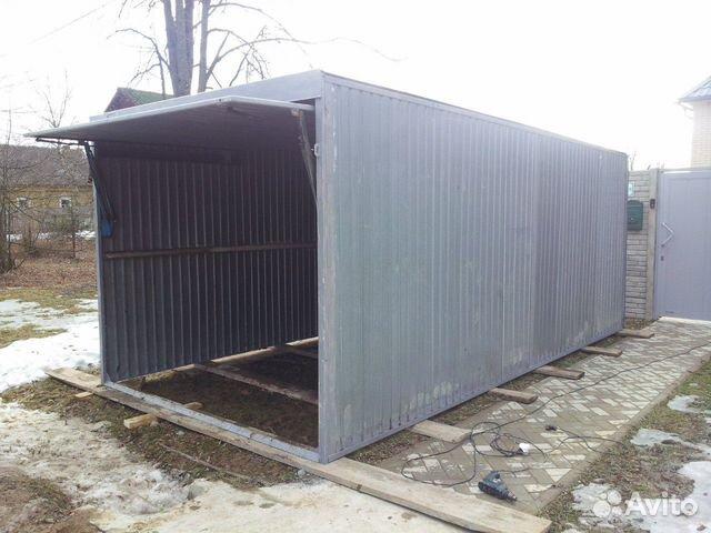 Металические гаражи- пеналы(Новые,БУ)  89209131521 купить 1