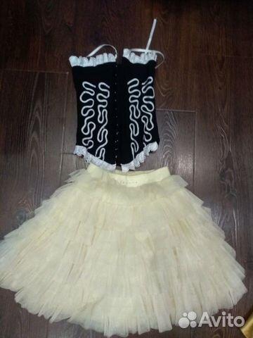 Современное платье на девочку