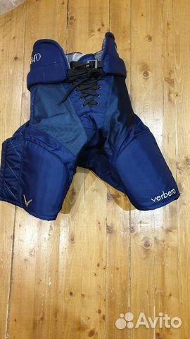 89036020550 Хоккейные трусы Verbero, темно синие, р. S