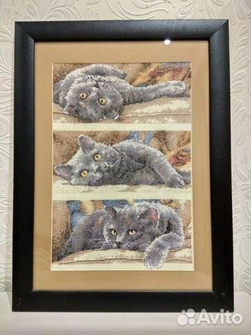 Картина вышитая крестиком 89026412907 купить 2
