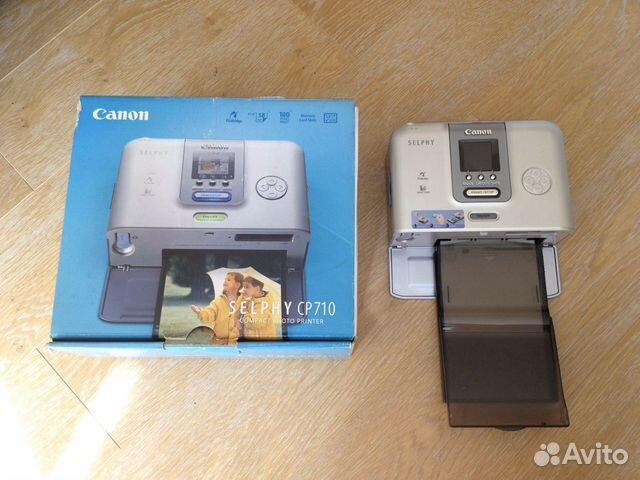 Принтер Canon Selphy новый