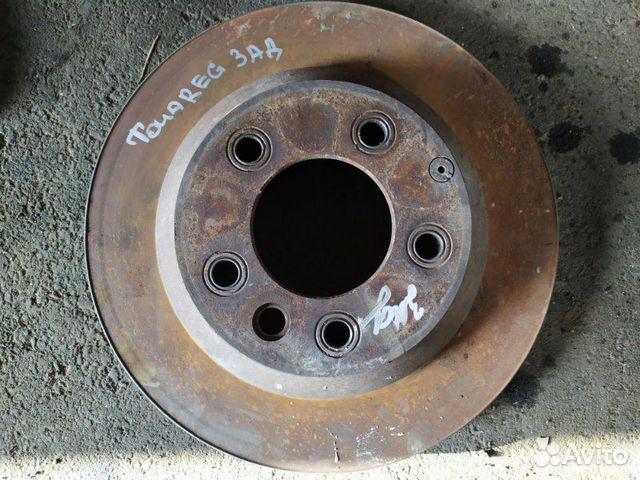 Тормозной диск задний Volkswagen Touareg 3.0 2008 89026196331 купить 1