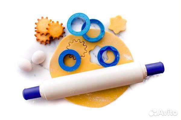 Скалка для теста с кольцами-насадкам Tupperware  89509265797 купить 1