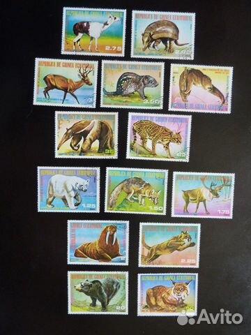 Почтовые марки Гвинеи Экваториальной 89275328672 купить 8