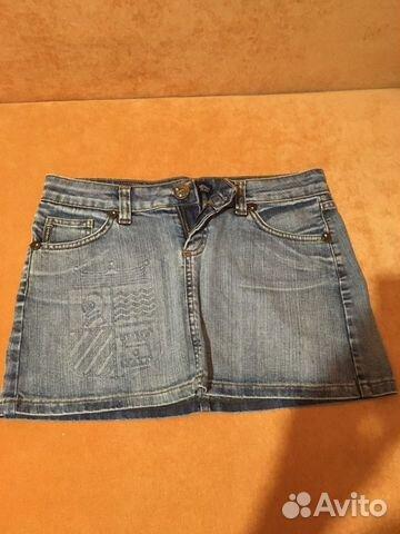 Юбка джинсовая AJ Armani  89137446690 купить 1