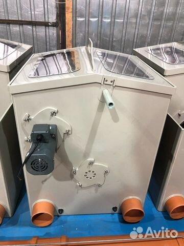 Барабанный фильтр для узв или пруда на 30 куб/час
