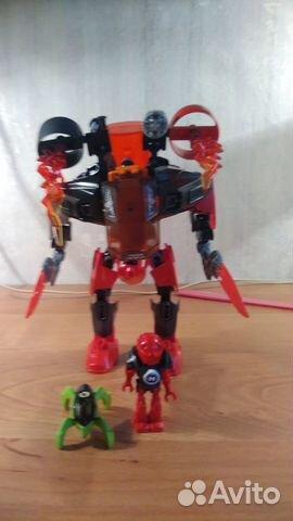 Lego hero factory и bionicle