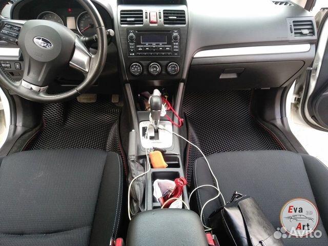 EVA (эва) коврики 3D на Subaru XV  купить 5