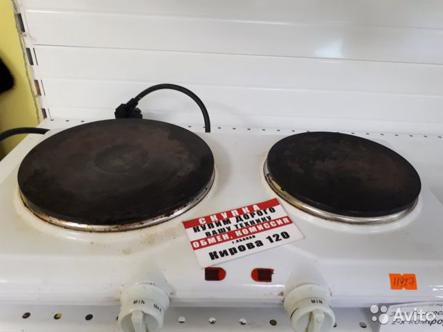 89503079406  Плита компактная электрическая (к120)