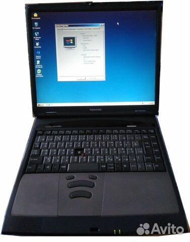 Ретро-ноутбук Toshiba Satellite 1801