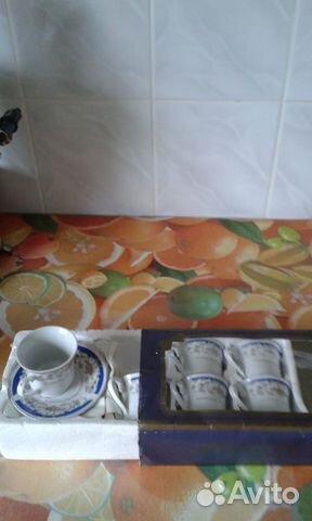 Набор чашек для чая. новые. чашки для чая  89062350147 купить 1