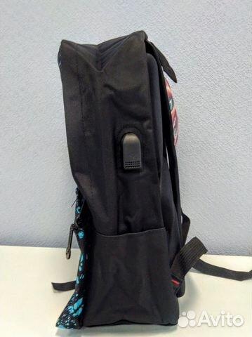 Рюкзак Тик ток TikTok черный капли  89141215253 купить 1