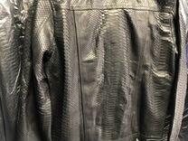 Мужская куртка из питона