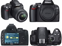 Фотоаппарат Nikon d3000 — Фототехника в Геленджике