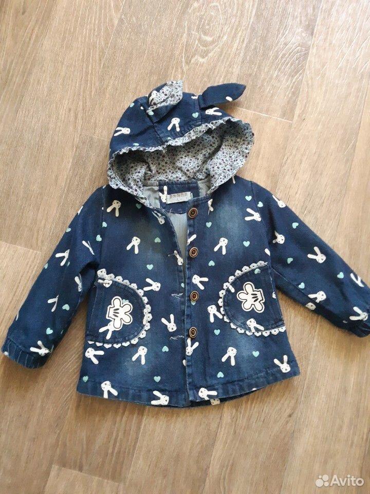 Джинсовая курточка на девочку  89236219223 купить 1