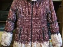 Зимняя куртка для беременных Beaute+подарок бандаж