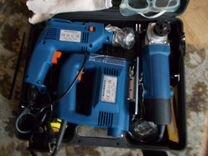 Набор электроинструментов ST 758, Бензопила MS 660