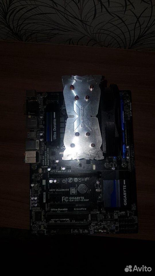 Intel i5-4460,Gigabyte LGA1150 Z87, zalman cnps10x  89232862022 купить 1