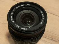 Почти как новый Объектив sigma 18-200mm 3.5-6.3