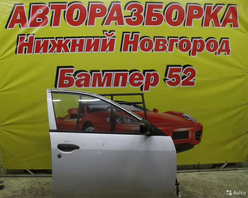 89524408730  Nissan Wingroad Ad Y11 1999-2005 Дверь передняя