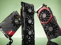 Видеокарты PCI-E GT GTS GTX HD RX. Без дефектов