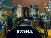 Tama Starclassic Bubinga + Жесткие кейсы