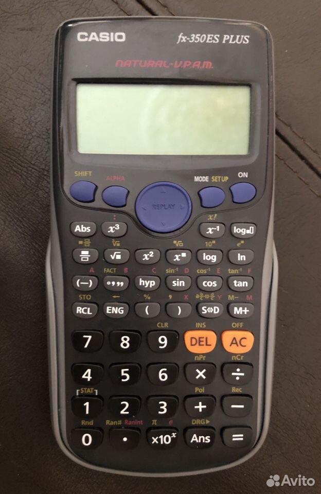 Калькулятор научный Casio fx-350 ES plus  89199200578 купить 1
