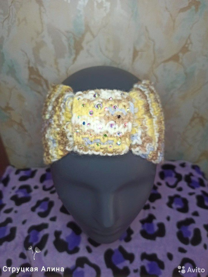Детская повязка на голову  89230066027 купить 2