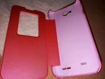 Чехол-бампер-книжка на LG L90 dual