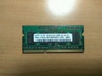 SoDimm pc3 ddr3 SAMSUNG 1Gb память ноутбука