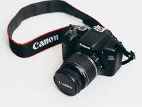 Сanon d550 с объективом 18-55mm