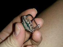 Серьги(серебро с полудрагоценным камнем)