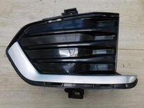 Решетка в бампер левая Cadillac XT5 2016-н.в
