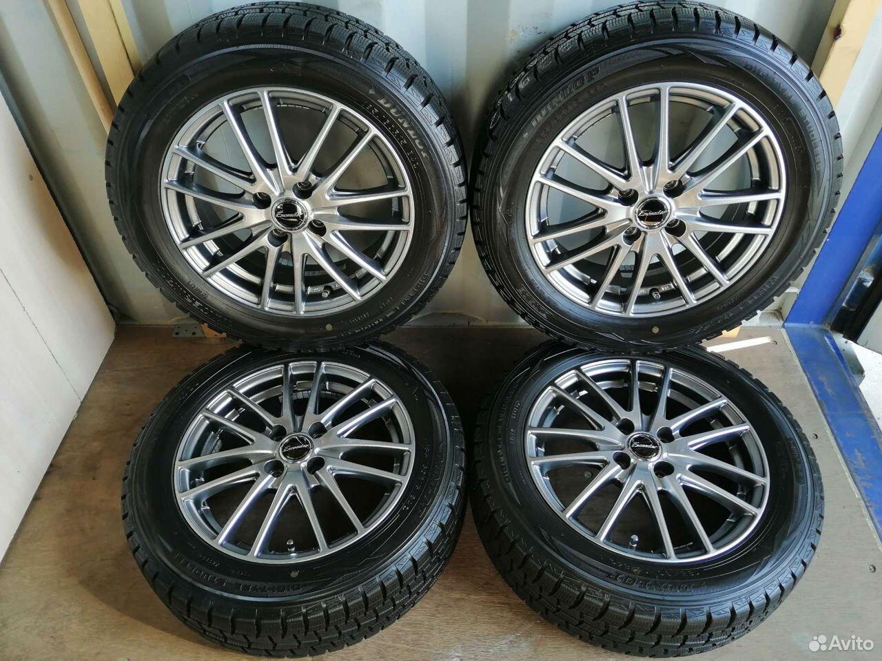 Комплект колес (№72) из Японии  89244146927 купить 1