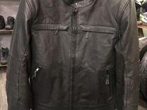 Куртка мото кожаная