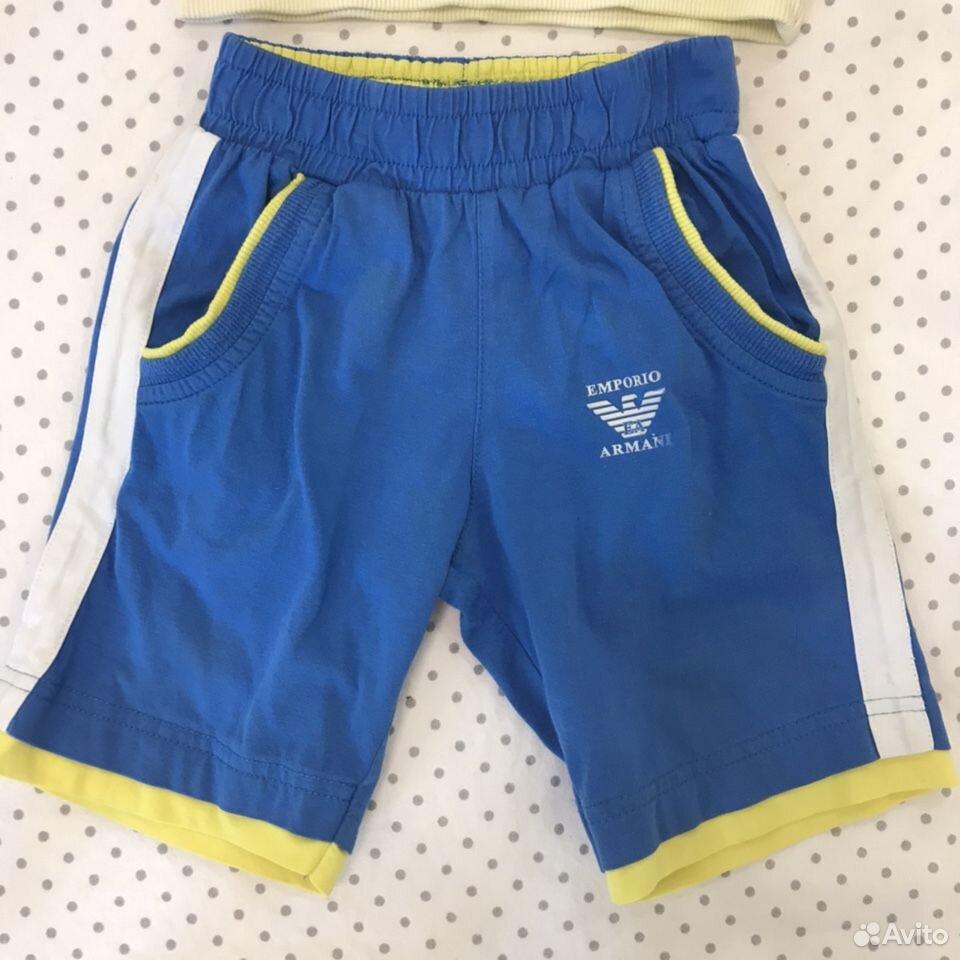 Футболка и шорты armani orig. 92  89628553030 купить 3