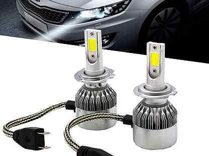 Светодиодные автомобильные лампы led H4 H7 H11 H1