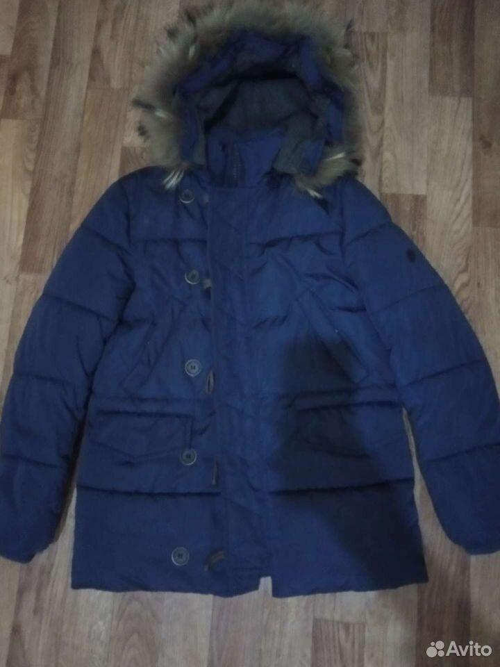 Куртка зимняя д/м 158