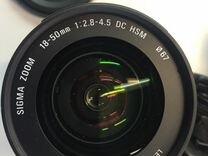 Sigma 18-50 f2.8-4.5 Sony A
