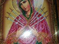 Икона алмазная мозайка