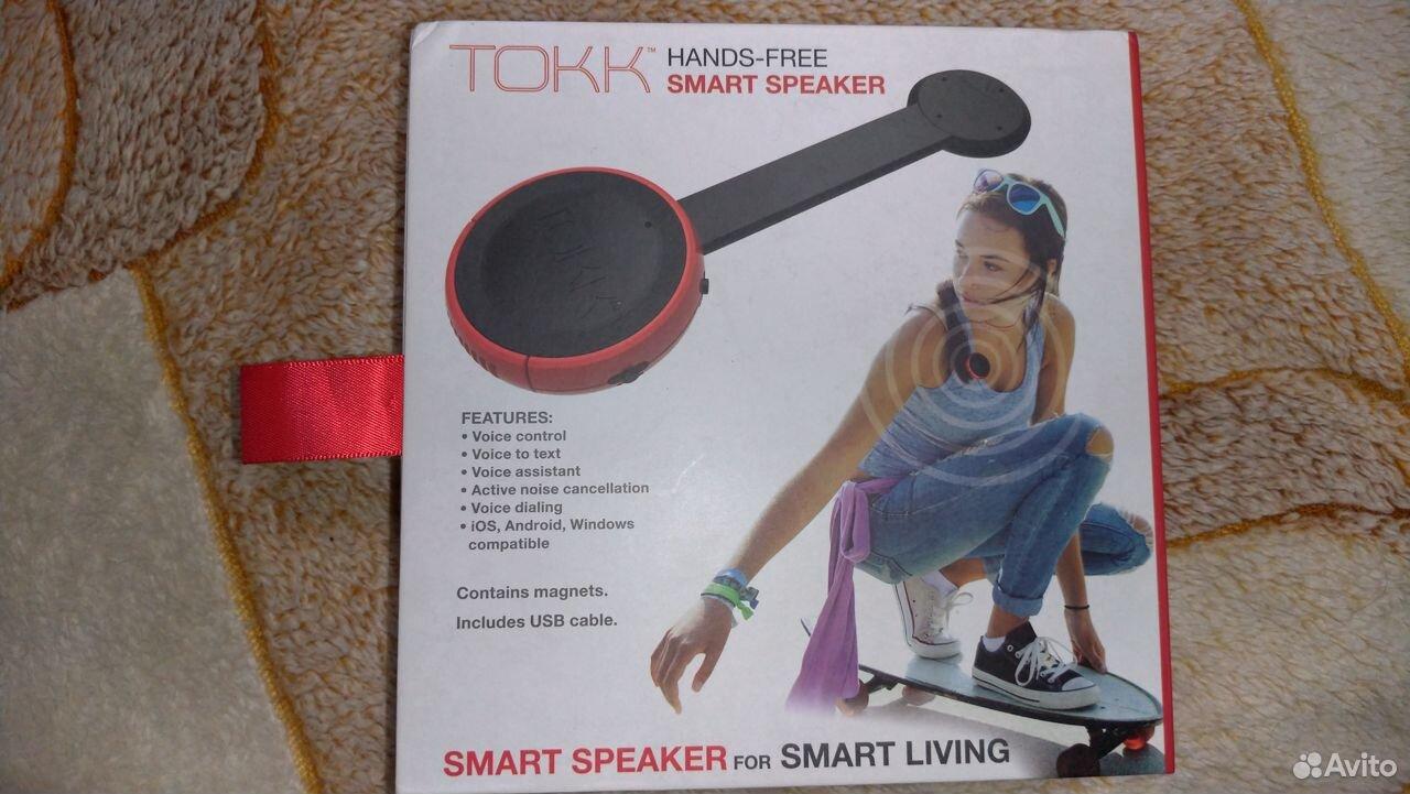 Смарт спикер Tokk Smart Assistant  89112185966 купить 1