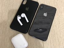 iPhone X + AirPods