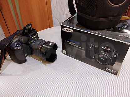 Зеркальный фотоаппарат Samsung GX-20