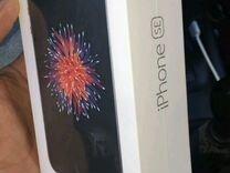 iPhone SE, черный, 32 Гбайт новый