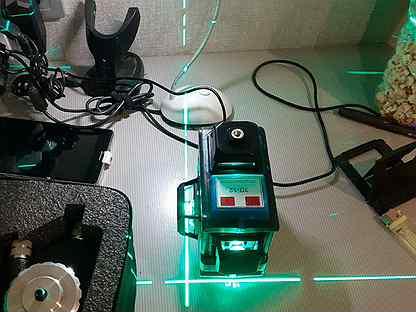 Уровень лазерный Hilda-LS055, 12 линий