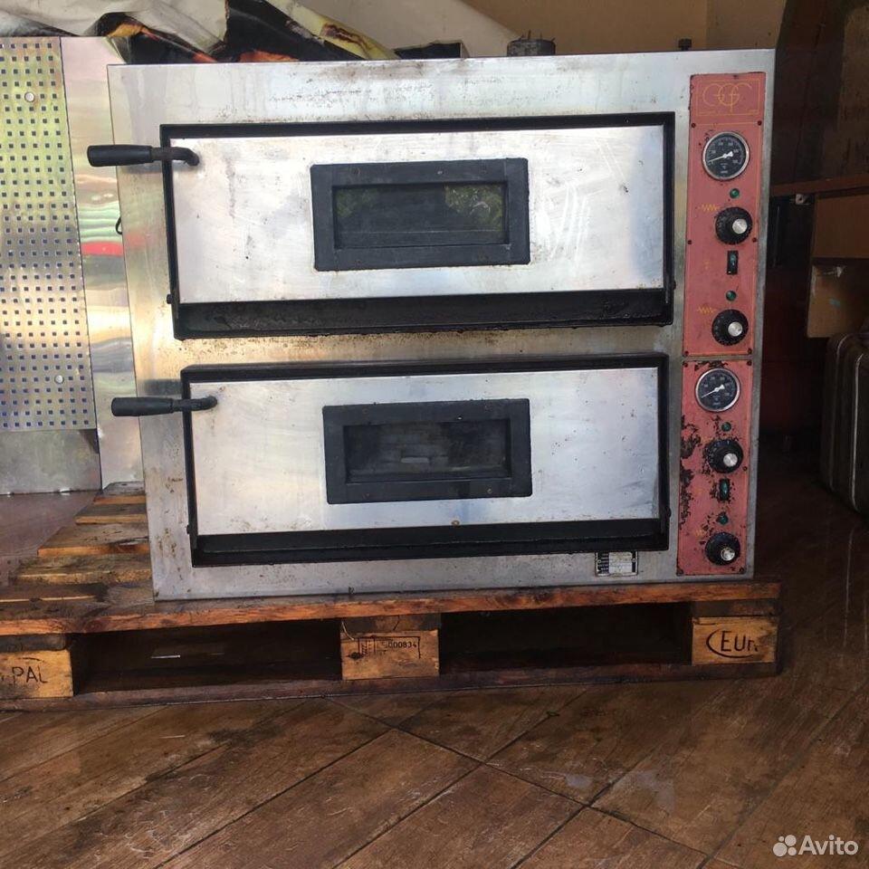 Печь для пиццы GGF E44/A б/у  89097395555 купить 1