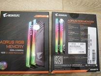 DDR4 2x8G 3200-CL16 Gigabyte aorus RGB GP-AR32C16S
