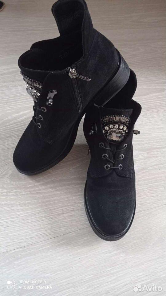Обувь осень-весна, замша с кари 89236609078 купить 1